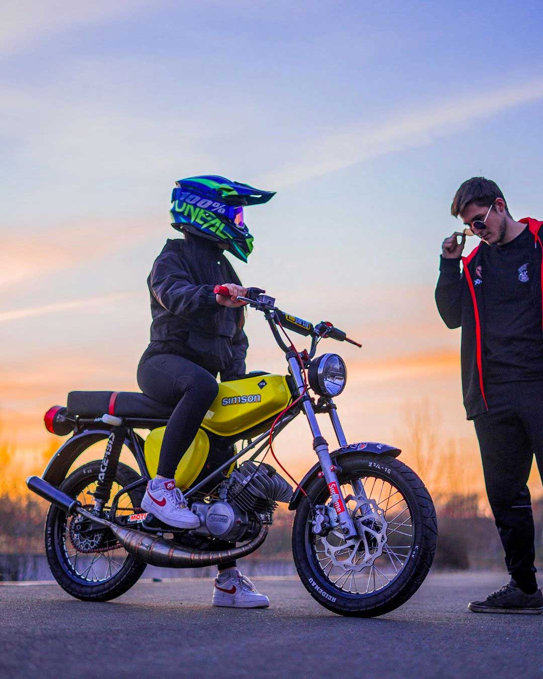 Einfahren-von-Simson-Moped-Motoren